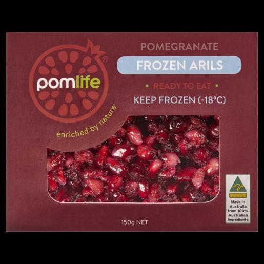 Pomlife Pomegranate Frozen Arils 150g