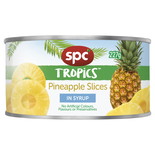 SPC Tropics Pineapple Slices in Syrup 227g