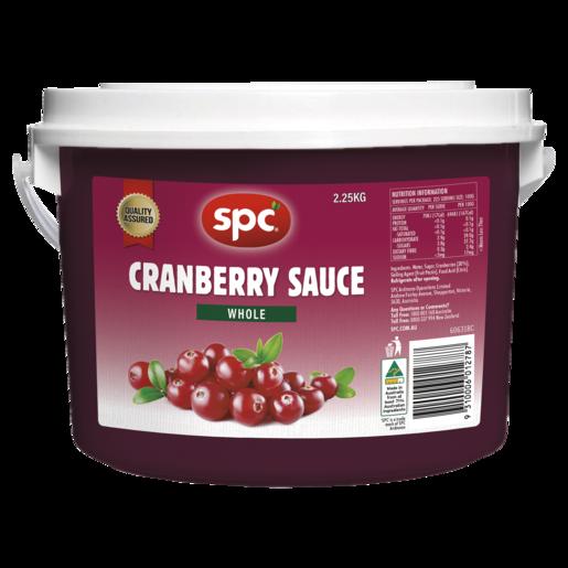 SPC Cranberry Sauce Whole 2.25kg