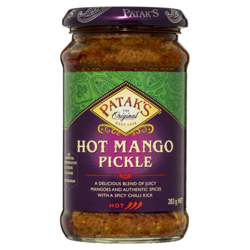 Patak's Hot Mango Pickle 283g