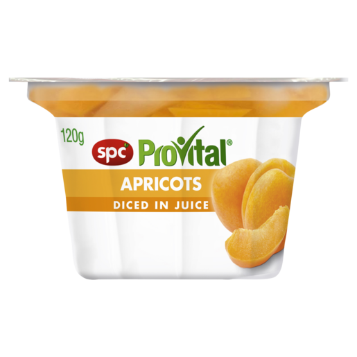 SPC ProVital Apricots Diced in Juice 120g