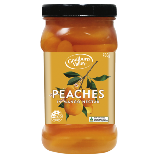 Goulburn Valley Peaches in Mango Nectar 700g