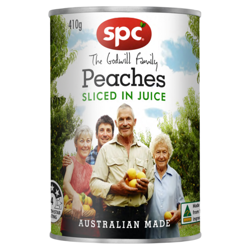 SPC Sliced Peaches in Juice 410g