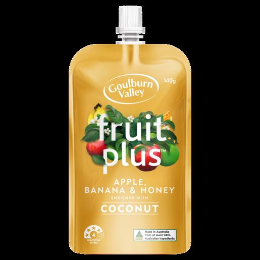 Goulburn Valley Fruit Plus Apple, Banana & Honey 140g