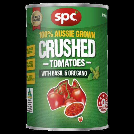 SPC Crushed Tomatoes with Basil & Oregano 410g
