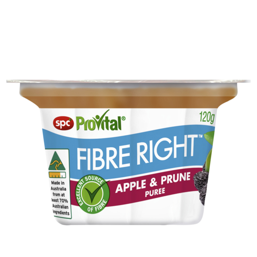 SPC ProVital Fibre Right Apple & Prune Puree 120g