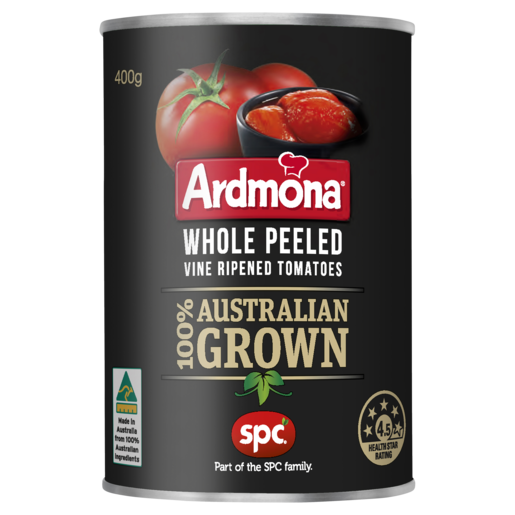 Ardmona Whole Peeled Vine Ripened Tomatoes 400g