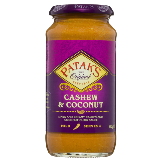 Patak's Cashew and Coconut Sauce 450g
